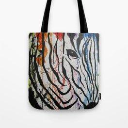 Splash of Zebra Tote Bag