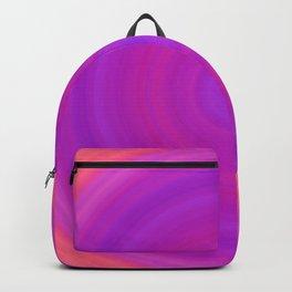 Orange & Purple Gradient Circles Backpack
