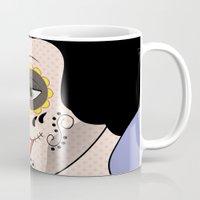 snow white Mugs featuring Snow White  by mark ashkenazi