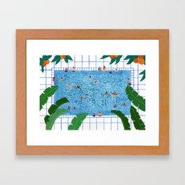 Oranjepool Framed Art Print