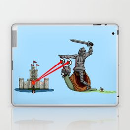 The Knight and the Snail - Random edition Laptop & iPad Skin
