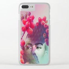 Succulent Frida #buyart #surreal Clear iPhone Case