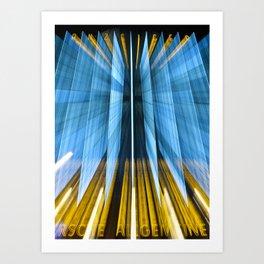 Anzeiger Warp Art Print