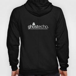 Ghost:Echo Grey Strap Logo Hoody