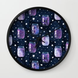 The Universe in glass Wall Clock