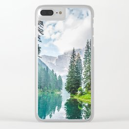 The Place To Be Clear iPhone Case