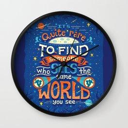 Same World Wall Clock