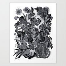 Dream Leotard Art Print