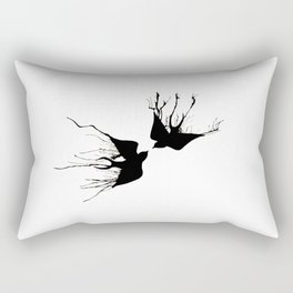 Swallows Rectangular Pillow