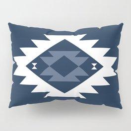 Kurt in Navy Blue Pillow Sham