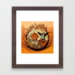 Fall Folklore Framed Art Print