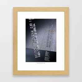 Brotherhood Inspired Framed Art Print