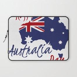 Happy Australia Day 2018 Laptop Sleeve