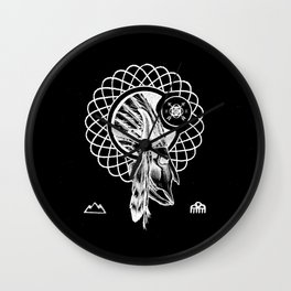SPIRIT PATH Wall Clock