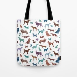 Doggies all over Tote Bag