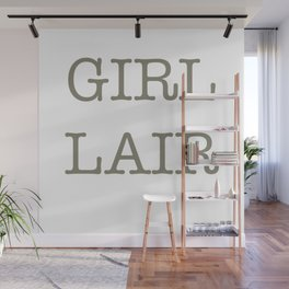 GIRL LAIR - whit version Wall Mural