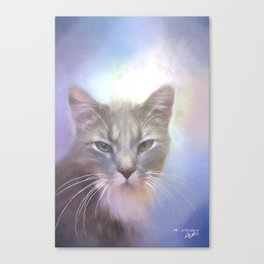 Mr. Whiskers Canvas Print