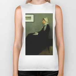WHISTLERS MOTHER - JAMES ABBOTT MCNEILL WHISTLER Biker Tank