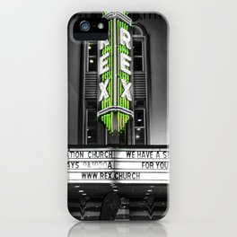 The Rex theater iPhone Case