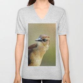 Female Great-tailed Grackle Unisex V-Neck