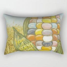 Have a Corny Time Rectangular Pillow