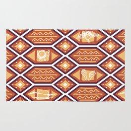 African Heat Rug