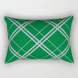 Slytherin Argyle Rectangular Pillow