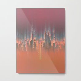 Reversible Space II Metal Print