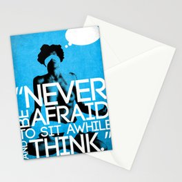 Never Be Afraid (R-Rated) Stationery Cards