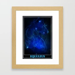 Equuleus Framed Art Print
