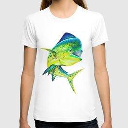 Mahi Time - Lit-Up Mahi Mahi, Dorado, Dolphin T-shirt