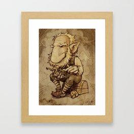 Oldus Lepriconus Framed Art Print