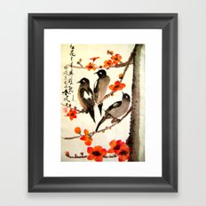 ode to Spring Framed Art Print