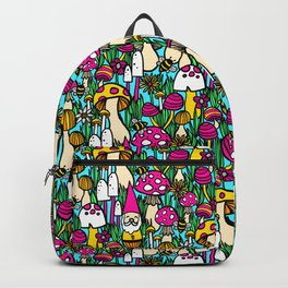 Gnome and Mushroom Meadow Backpack