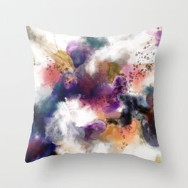 Aquarette 2 Throw Pillow