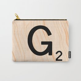 Scrabble Letter G - Scrabble Art and Apparel Carry-All Pouch