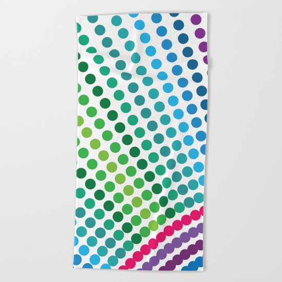 Do dot not only to the end Beach Towel