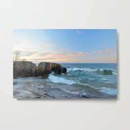 Rolling Waves On Superior Metal Print