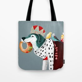 The king has come!! Tote Bag
