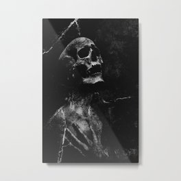 To the right way Metal Print
