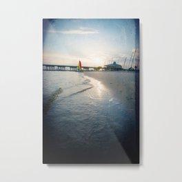 Ocean Springs Sunset Metal Print