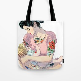 I love MOM Tote Bag