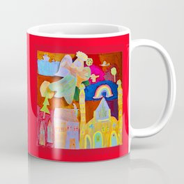 Rainbow Angel Coffee Mug