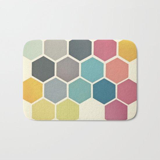 Honeycomb II Bath Mat