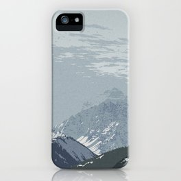 Pyramid Peak iPhone Case