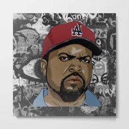 big rap legend Metal Print
