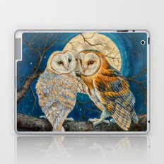 Owls Moon Stars Laptop & iPad Skin