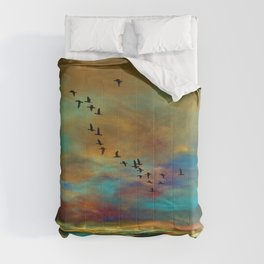 Winging Home Comforters