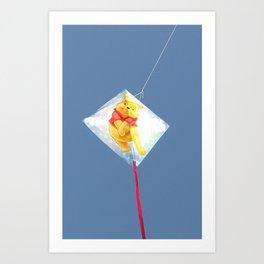 teddy bear Art Print
