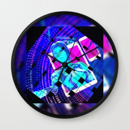 IA by GEN Z Wall Clock